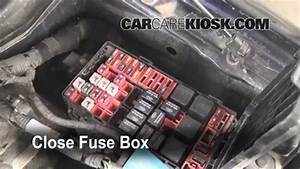 Blown Fuse Check 1997-2004 Ford F-150