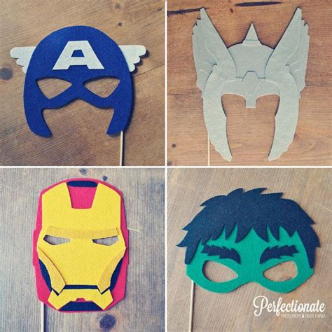avengers photo props photo booth props super hero