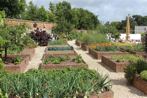 Raised Beds In The Walled Garden © Oast House Archive Cc