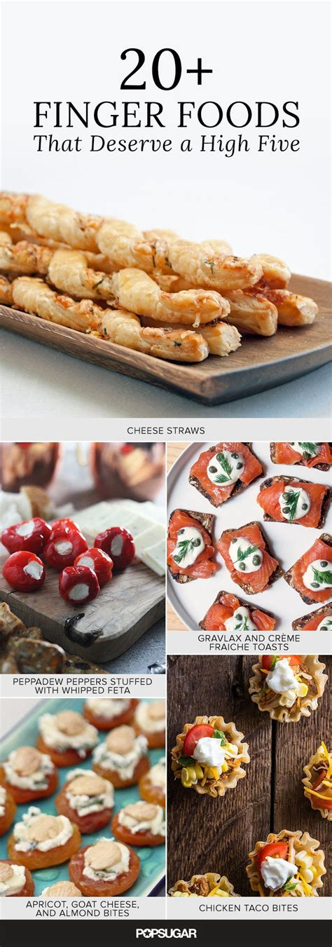 finger foods for 25 finger foods that deserve a high five cocktail parties recipes and drinks