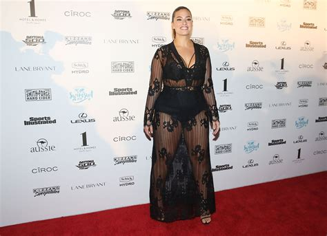 Sports Illustrated Cover Star Ashley Graham Flashes Her