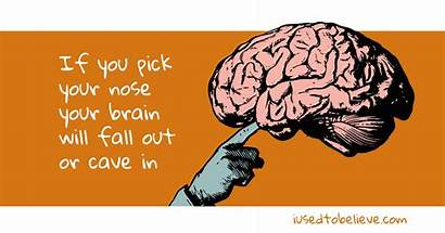 Brain Nose Cave Picking Pick Fall Common