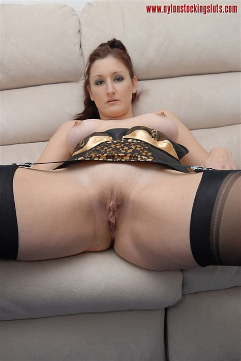 Mature Big Boobed Milf In Black Stockings W Xxx Dessert