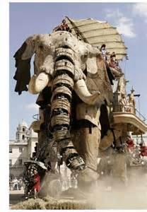Giant Elephant Puppet