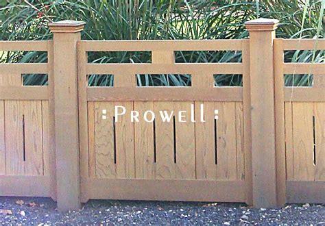 custom wood ranch style fence panel   boise idaho