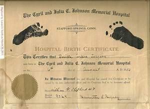 barack obama39s footprint birth certificate and savilla With hospital birth certificate template