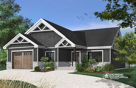house plan Woodside No 3291 Craftsman style house plans