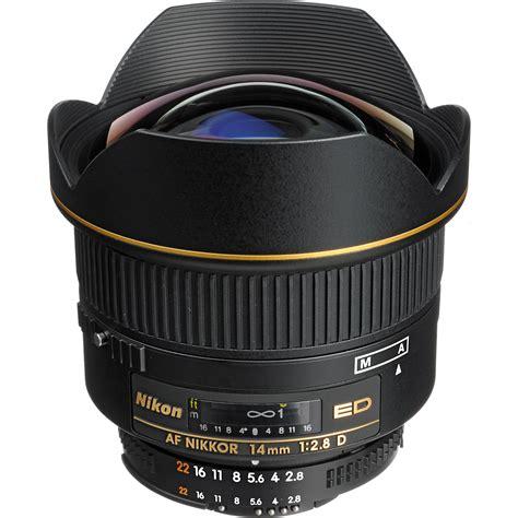 Best Wide Angle Lens For Nikon Nikon Af Nikkor 14mm F 2 8d Ed Lens 1925 B H Photo
