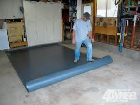 garage floor covering installation how to build a house