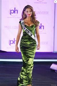Miss Afrique Du Sud Demi Leigh Nel Peters Lors Du 66e