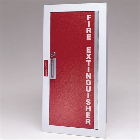 recessed extinguisher cabinet detail larsen gemini series recessed extinguisher cabinet