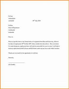 Pin By Diodel Garbo On Job Resigning Letter Format Sample