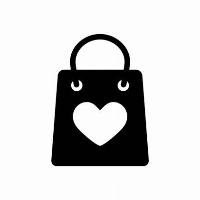 Bag Shopping Icon Transparent Bags Heart Icons