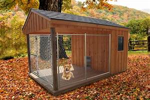 Cage type outdoor dog house | Pinx Pets