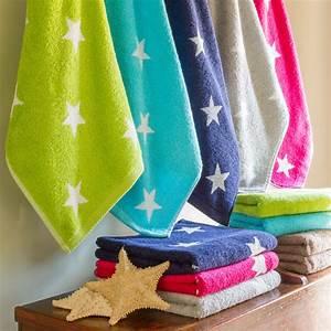 Drap De Bain 100x150 : drap de bain 100x150 cm coton stars marron linnea linge de maison et ~ Teatrodelosmanantiales.com Idées de Décoration
