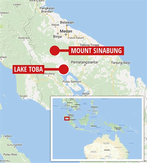 volcano update fears mout sinabung blast  set
