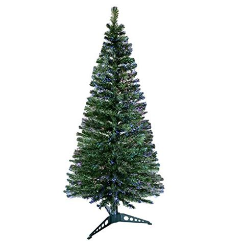 6ft 180cm beautiful green fibre optic artificial indoor christmas xmas tree new best