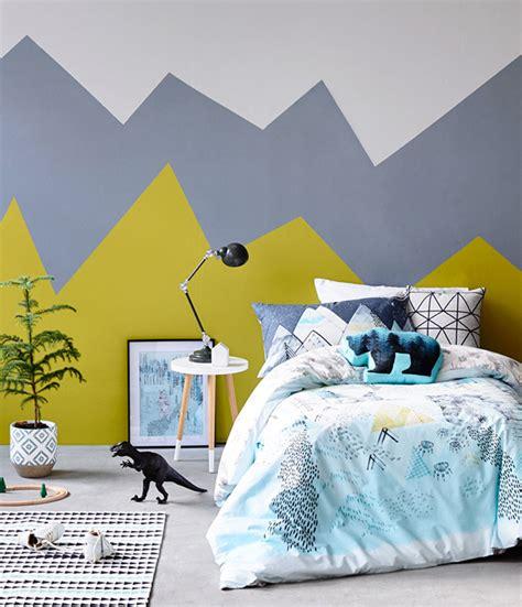idee couleur peinture chambre garcon chambre enfant arty