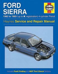 Haynes Workshop Car Repair Manual Ford Sierra 4