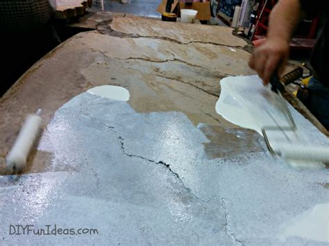 how to fill holes in concrete countertops grouting and sealing diy concrete countertops