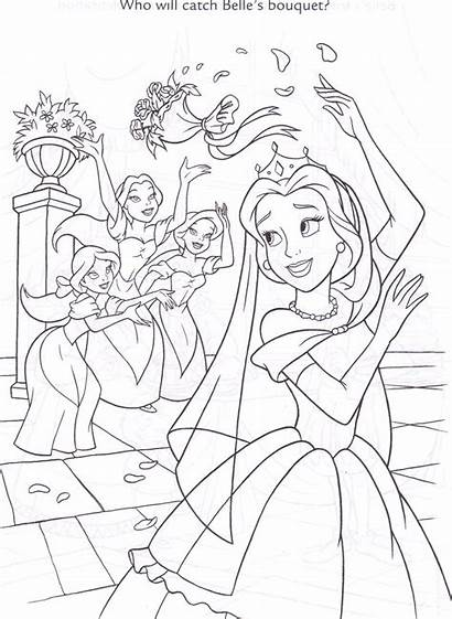 Bimbettes Disney Coloring Beast Beauty Prince Rose