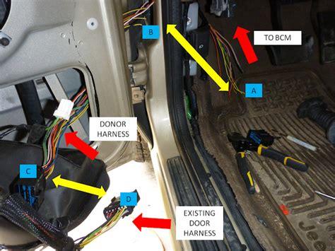 1999 2004 wj driver door boot wiring fix diy jeepforum