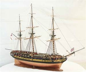 Ship model frigate HMS DIANA, sailing ship