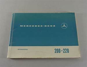 Operating Instructions  Owner U0026 39 S Manual Mercedes  8 W115 200