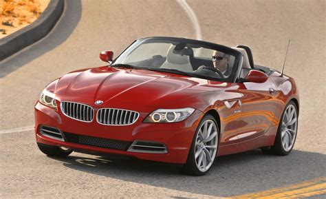 2016 Bmw Z4 Red Color Autocar Pictures
