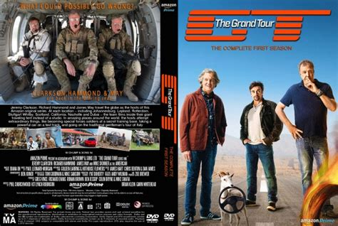 The Grand Tour Season 1 by The Grand Tour Season 1 Dvd Covers Labels By Covercity