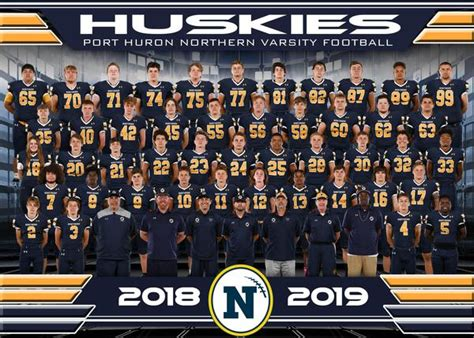 port huron northern high school boys varsity football fall
