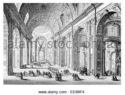 musee moderne rome modern rome by paolo panini 1757 musee du louvre stock photo royalty free