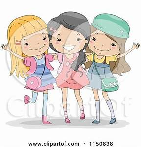 Royalty-Free (RF) Friendship Clipart, Illustrations ...