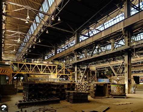 Inside the Industrial Giant. A Stunning Abandoned Foundry ...