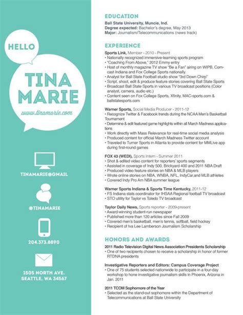 17 best images about resumes that sparkle on