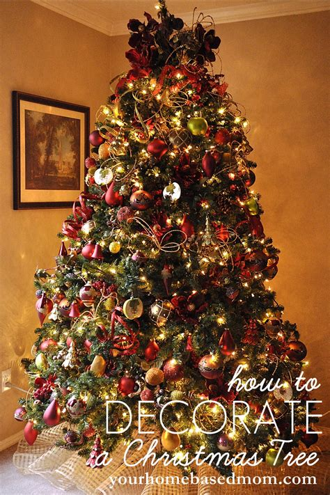 decorating trees with christmas lights how to decorate a christmas tree tutorial