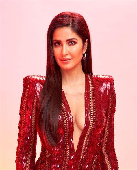 katrina kaif attended  iifa rocks party wearing  red