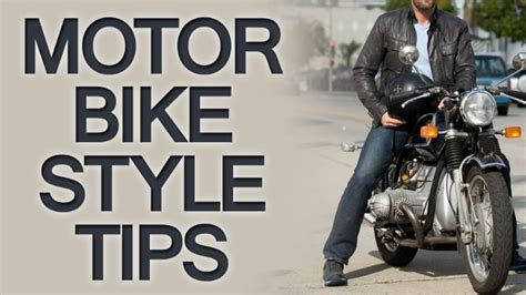casual motorcycle riding how to dress sharp when a motorcycle is your primary means