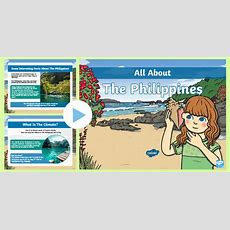 * New * Ks1 All About The Philippines Powerpoint