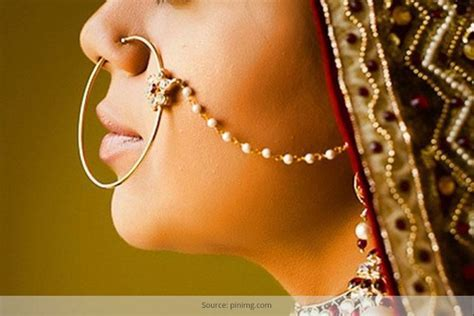 Nose Rings Of Different Regions