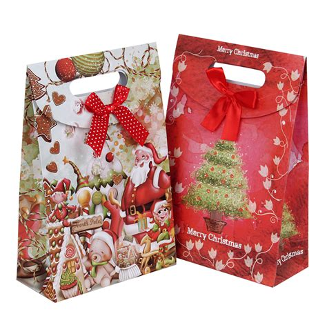 gift bags flower paper gift bags for food packaging