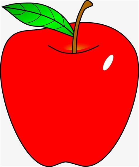 Cartoon red apple clipart image and jpg   Red apple art ...