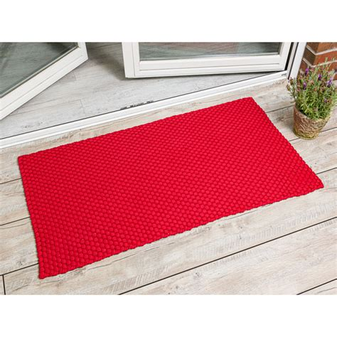 outdoor teppich rot outdoor teppich uni rot 72x132 pad concept hier kaufen