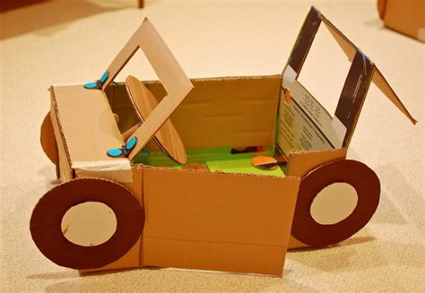creative diy cardboard playhouse ideas