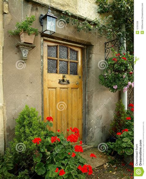 cottage front doors front door of an cottage stock image image 10781239