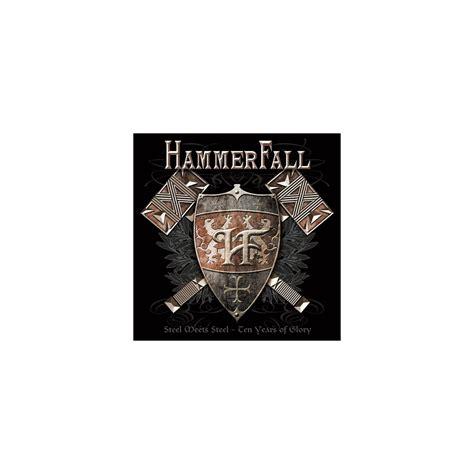 Cd Hammerfall  Steel Meets Steel  10 Years Of Glory