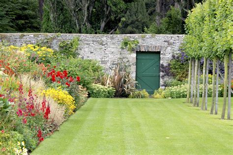The Walled Garden At Glenarm Castle