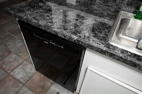 Black Laminate Countertops by Shiny Black Laminate Countertops Ha98 Roccommunity