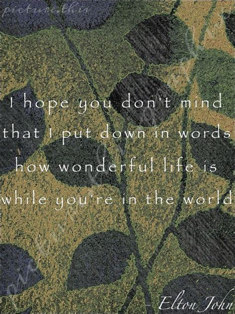 song elton john lyrics  box pinterest