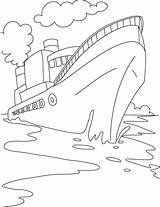 Coloring Ship Cruise Pages Boat Speed Drawing Cargo Disney Container Titanic Printable Sheets Bestcoloringpages Shipwreck Books Craft Worksheets Template Getcolorings sketch template